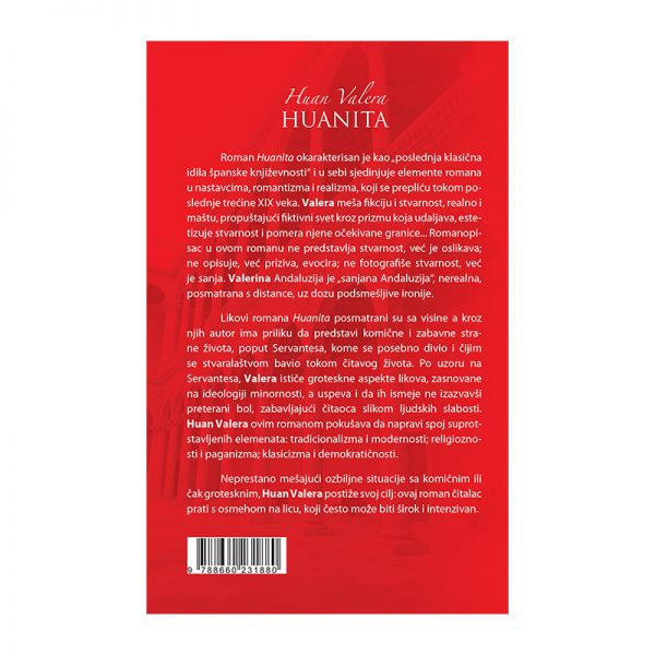 Huanita - autor Huan Valera zadnja korica