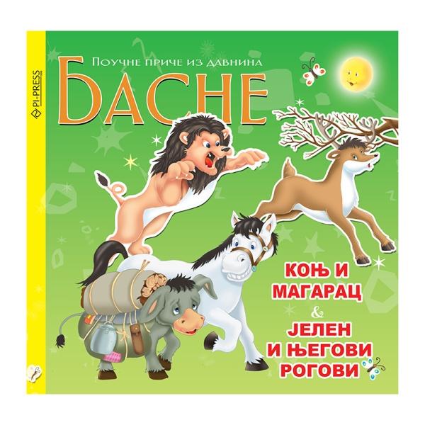 Konj i magarac - Jelen i njegovi rogovi